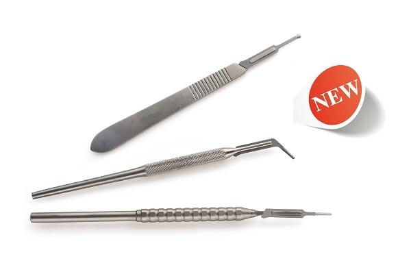Novità – Micro Lame Chirurgiche e Manici Feather